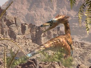 Wildlife from Triassic